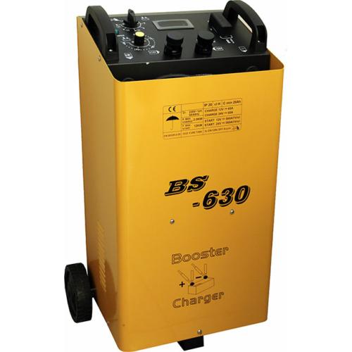 BS630 12V-24V 90A akkumulátor töltő 600A bikázó
