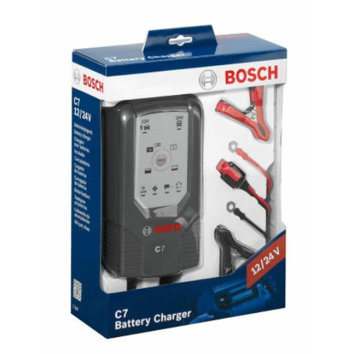 BOSCH C7 12/24V 7A akkumulátor töltő (018999907M)