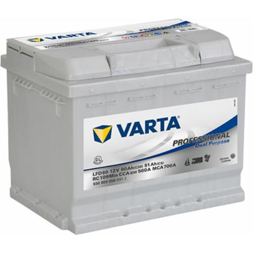 Varta Professional Dual Purpose K20/60 K5/51 Ah (930060056 B91 2)