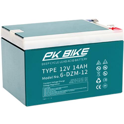 PK Bike Deep Cycle 12V 14Ah VRLA elektromos kerékpár akkumulátor