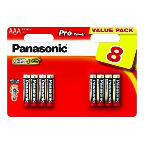 Panasonic Pro Power LR03/AAA elem 4+4