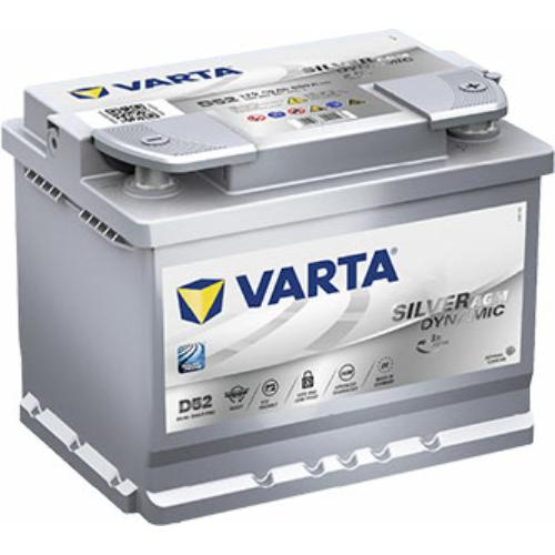 Varta Silver Dynamic (AGM) 60Ah 680A (560901068D852)