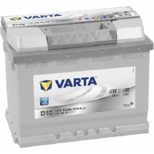 Varta Silver Dynamic  63 Ah 610A
