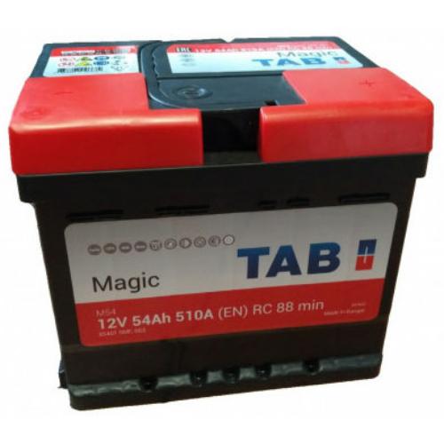 TAB Magic 12V 54Ah 510A jobb+ akkumulátor (55401)